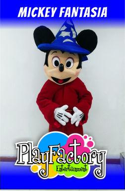 personaje mickey mouse fantasia en bogota para fiestas infantiles recreacionistas